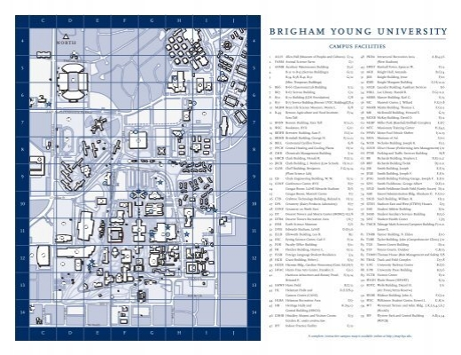BYU Campus Map - Monte L. Bean Life Science Museum - Brigham ... on