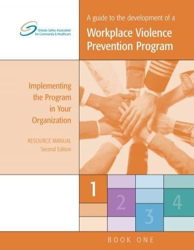 Violence Prevention Publications