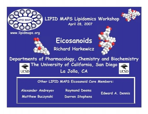 Eicosanoids Lipid Maps