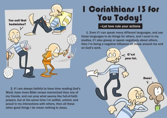 1 Corinthians 13 for You Today! - TFI Online