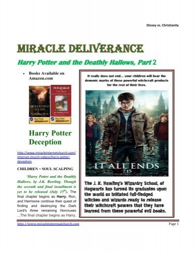 Harry Potter And The Deathly Hallows Part 2 Remnant Radio Home
