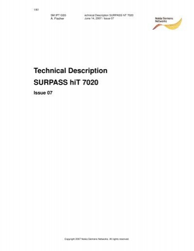 technical description surpass hit 7020 rh yumpu com Compaq 7020 DCP-7020 Driver Windows 7
