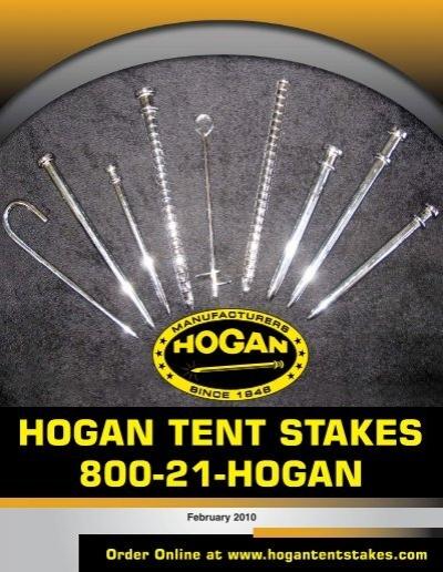 sc 1 st  Yumpu & 32086 Hogan tent Stakes V3.qxd - JBMabb