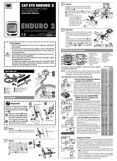 cateye enduro cc-ed200 manual