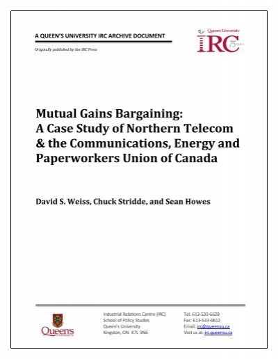 mutual rewards bargaining situation study