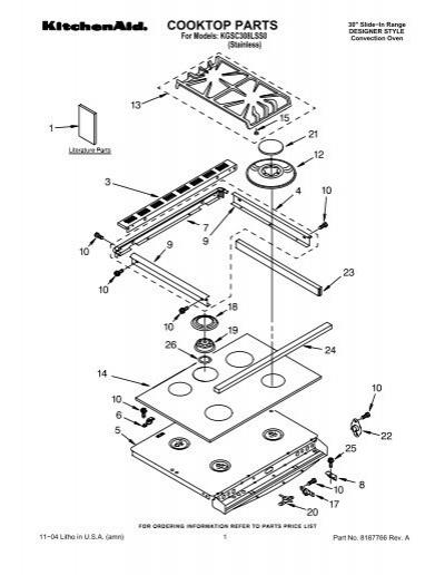 cooktop parts kitchenaid bbq grill ignitor replacement kitchenaid gas grill ignitor wiring diagram #14