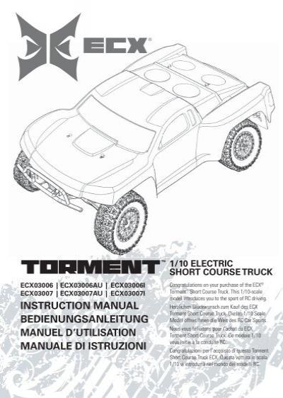 110 Torment Manual