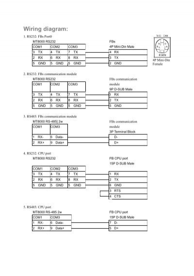 Wiring diagram 1 rs232 cheapraybanclubmaster Image collections