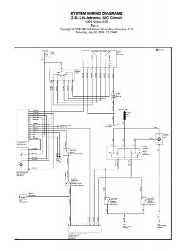 Volvo 940 A C Wiring Diagram Wiring Diagrams Electro Electro Chatteriedelavalleedufelin Fr
