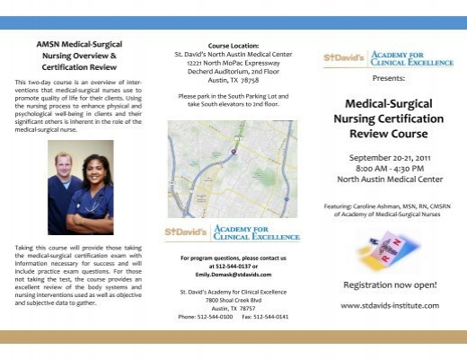 Medical-Surgical Nursing Certification Review Course - ABC Signup