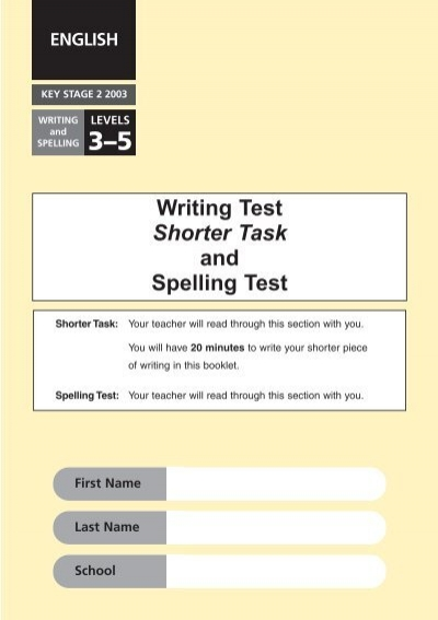 Ks2 english sats papers 2013