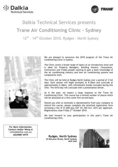 Dalkia Technical Services presents Trane Air Conditioning