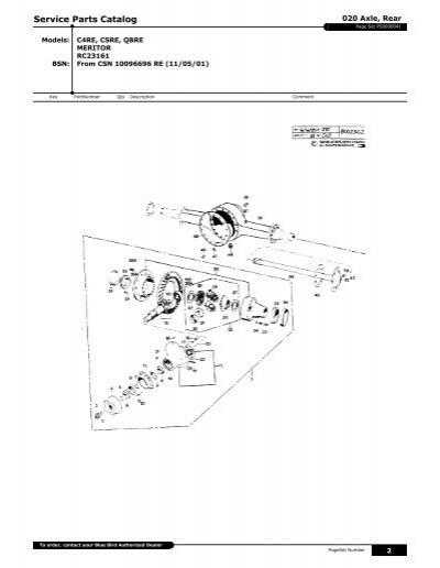 Meritor Axle Parts Breakdown : Meritor differential parts breakdown imageresizertool