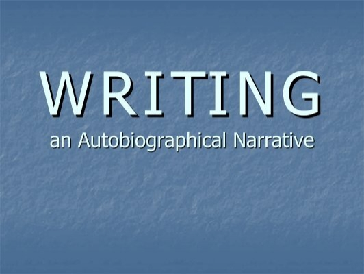 Autobiographical essay writing prompts