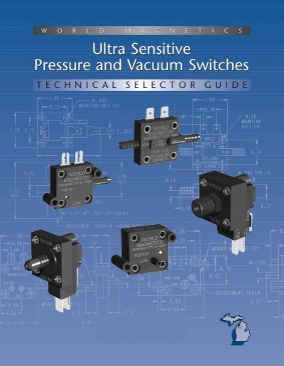 World Magnetics PSF100A-50.0 Pressure switch sensor Firma i Przemysł
