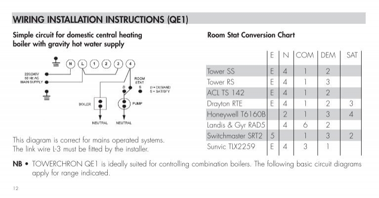 grasslin towerchron qe2 timer instructions