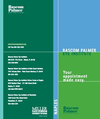 Your Appointment In Naples Made Easy Bascom Palmer Eye Institute