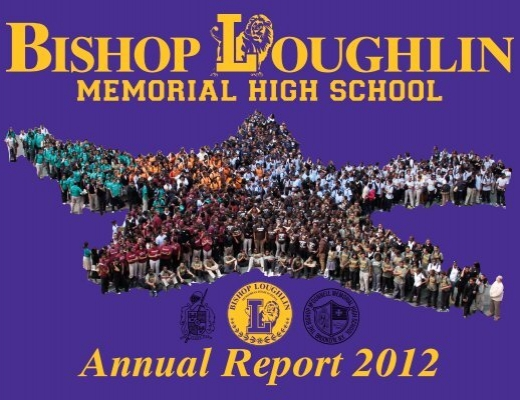 Annual Report 2012 Bishop Loughlin Memorial High School