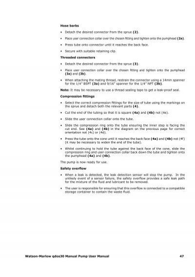 watson marlow qdos 30 manual