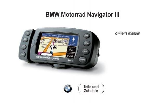 bmw motorrad navigator iii owner s manual rh yumpu com bmw motorrad navigator ii manual BMW Motorrad Navigator III
