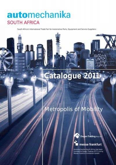 Catalogue 2011 Automechanika