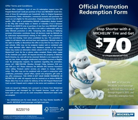 Official Promotion Redemption Form - BzzAgent