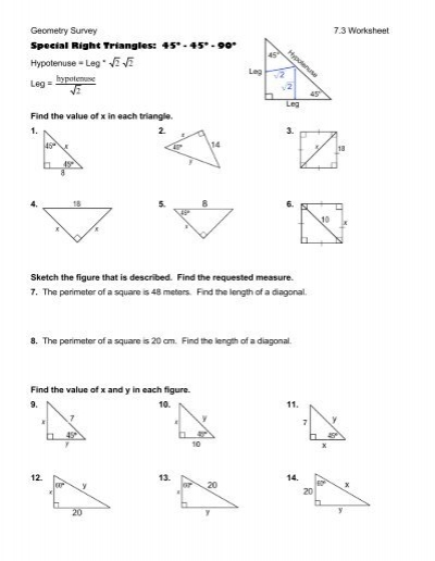 Geometry Survey S