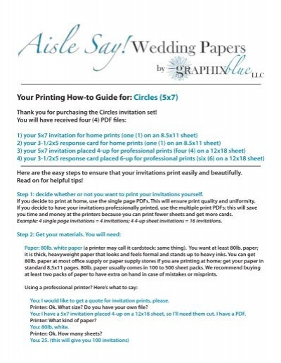 blue graphix aisle say wedding papers by graphix blue llc