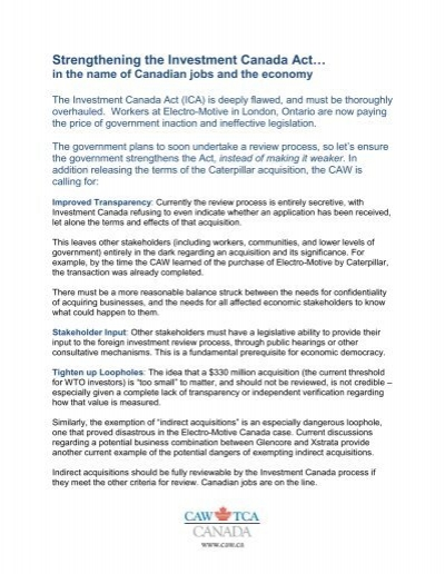 investment canada act wto investor
