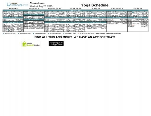 lifetime fitness rochester group fitness schedule pdf