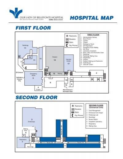 Endoscopy Room Floor Plan: Hospital Floor Map