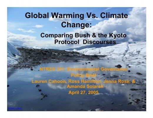 global warming science journal pdf