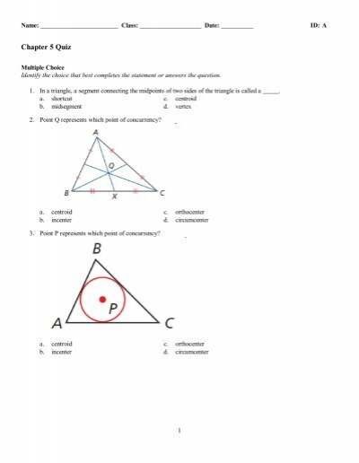 Review Worksheet With Answers