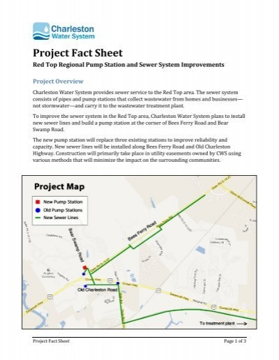 View the project fact sheet charleston water system publicscrutiny Image collections