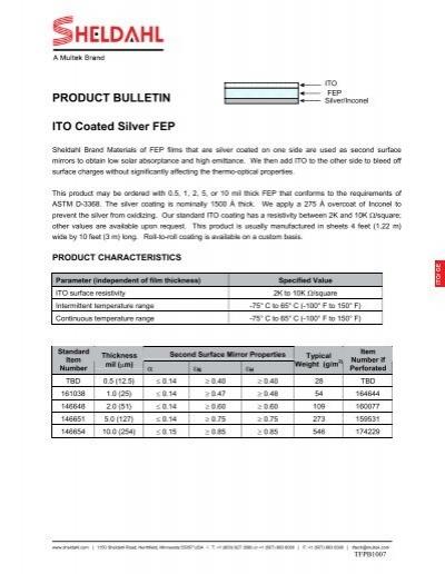 ITO - GE pdf - Sheldahl