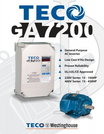 Ga7200 specifications brochure pdf 425kb 2 pages teco ga7200 specifications brochure pdf 425kb 2 pages teco publicscrutiny Choice Image