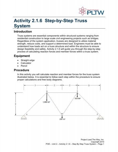 Activity 213 Free Body Diagrams Purpose Troy High School