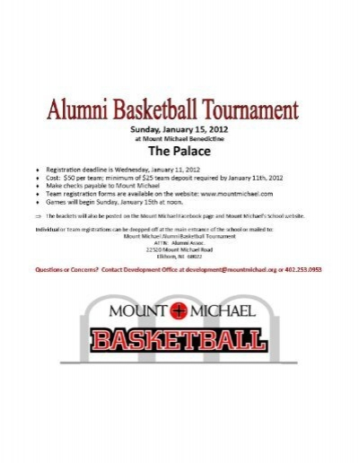2012 mount michael alumni basketball tournament registration form pronofoot35fo Choice Image