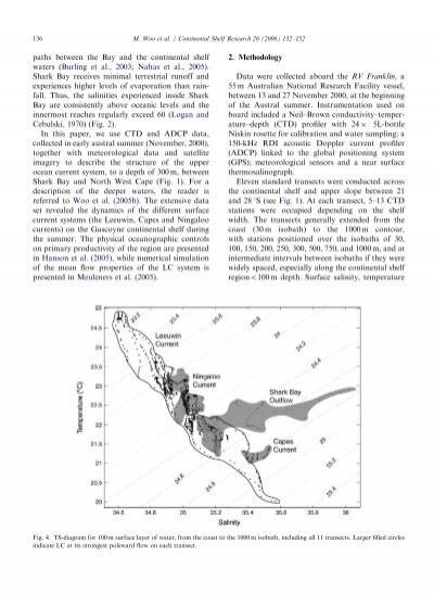 uwa sese thesis The dynamics of flow between cockburn sound and sepia depression [www2seseuwaeduau] {the dynamics of flow between cockburn sound and sepia depression.