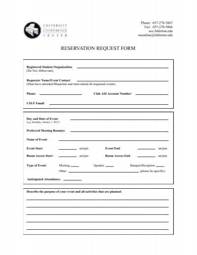 Student Organization Meeting Request Form – Student Request Form