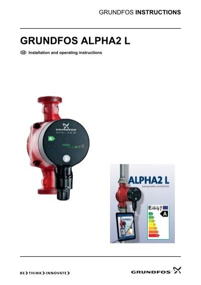 Grundfos alpha2 l prestige pumps ltd.