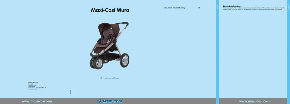 A Set of Tyres and Tubes Suitable for Maxi Cosi Mura Pushchairs