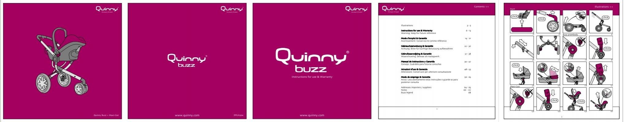 quinny buzz 3 instructions