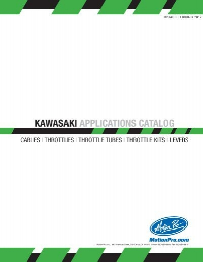 MOTION PRO BLACK VINYL CLUTCH CABLE 03-0118 MC Kawasaki