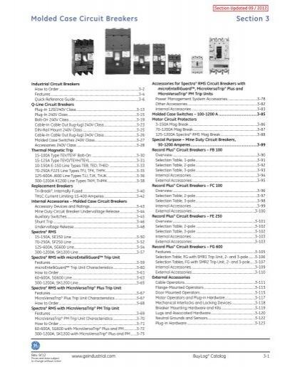 GE Circuit Beeaker Accessory TEDAS2AB2R