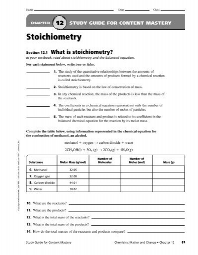 stoichiometry study guide Read and download chapter 12 stoichiometry study guide for content mastery free ebooks in pdf format polar bears past bedtime judy moody around the world in 8 12 days.