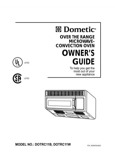 Dometic Microwave Convection Oven Bestmicrowave