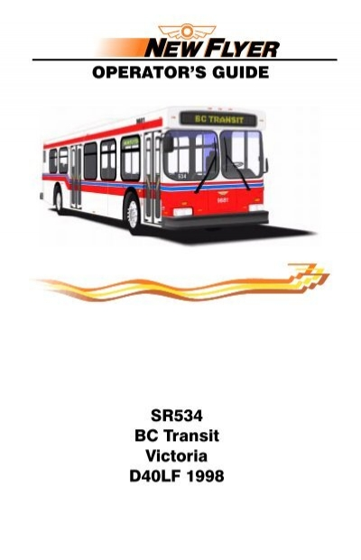 tr 011 new flyer bus 9881 9891 manual bc transit rh yumpu com