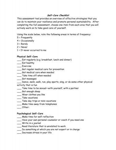 Worksheets Self Care Worksheets self care worksheet sharebrowse delibertad