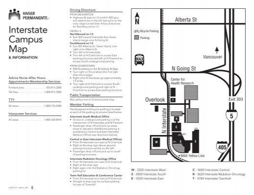 Interstate Campus Map